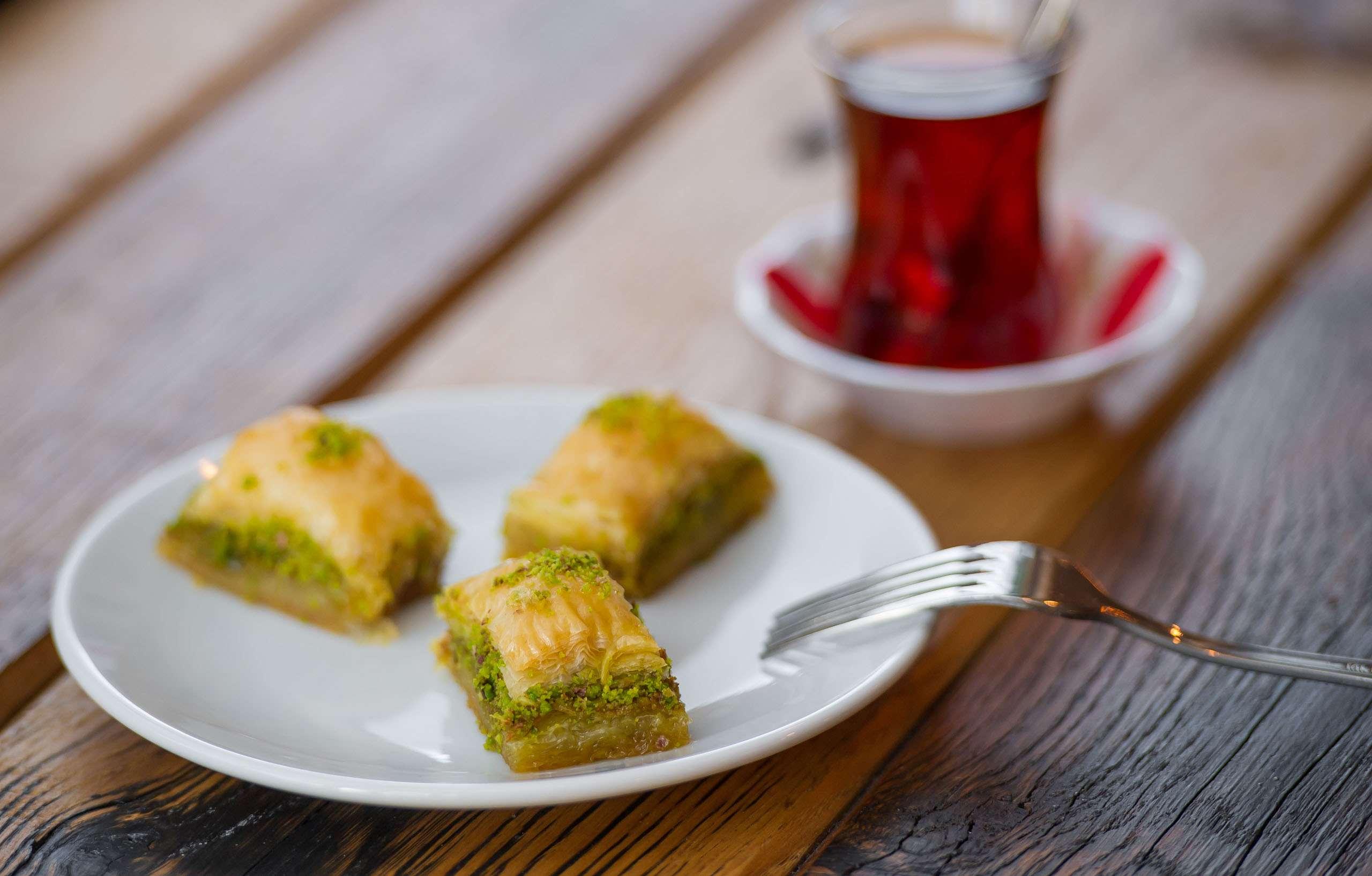 Kervan nổi tiếng với những chiếc bánh truyền thống Thổ Nhĩ Kỳ