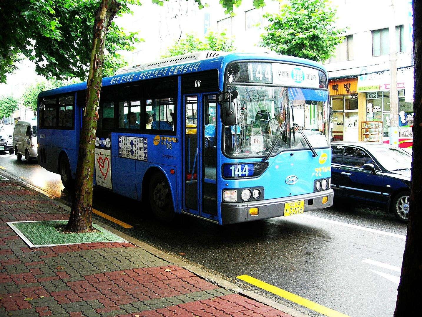 Xe buýt ở Hàn Quốc