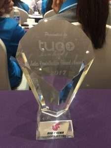 Giải thưởng nhà phân phối xuất sắc năm 2017 của hãng hàng không Air China