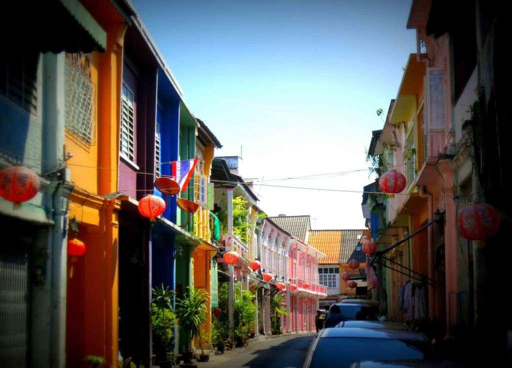 Phố cổ Old Town Phuket Thái Lan