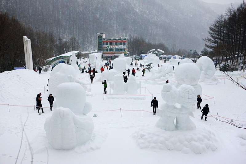 Lễ hội tuyết núi Taebaeksan