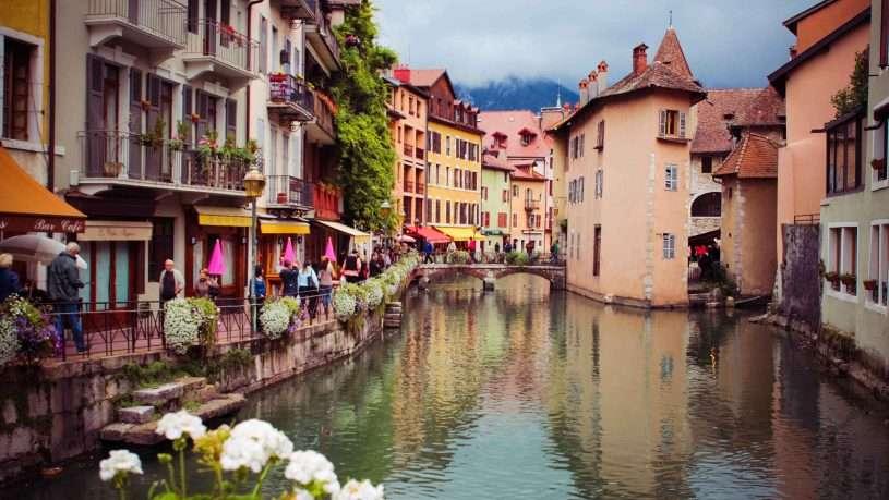 Annecy một viên ngọc quý của đất Pháp
