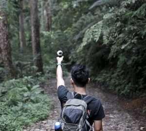 Các bạn trẻ thỏa sức khám phá tại Đài Loan