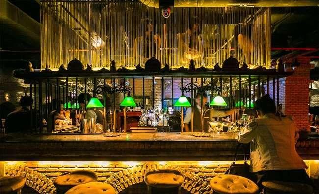 Một góc nhỏ quán bar Maggie Choo's