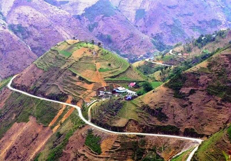 Quang cảnh ở Hà Giang