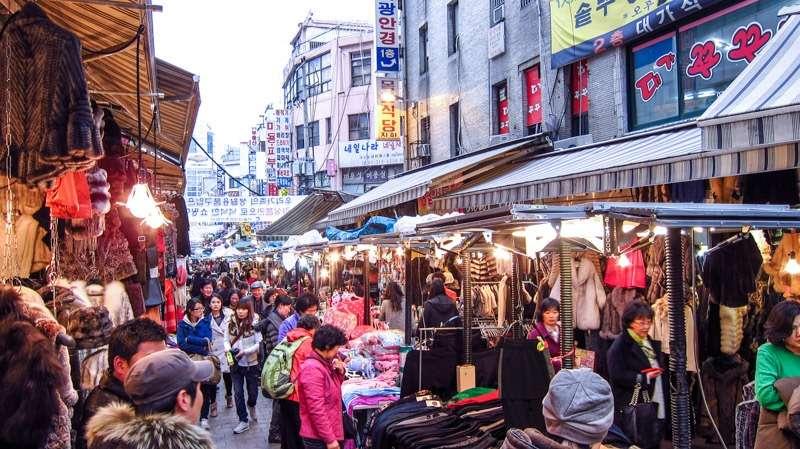 Mua sắm siêu tiết kiệm tại Hàn Quốc
