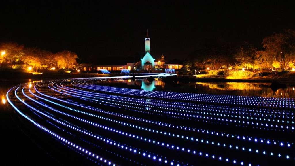 Hàng triệu bóng đèn thắp sáng