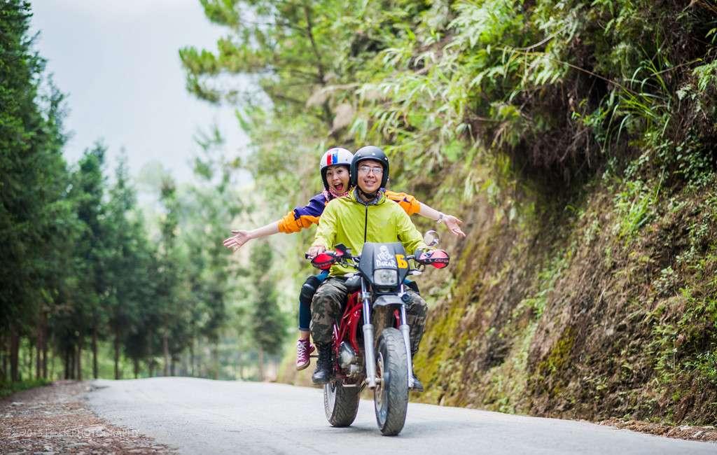 Những chuyến phượt của các bạn trẻ đam mê du lịch