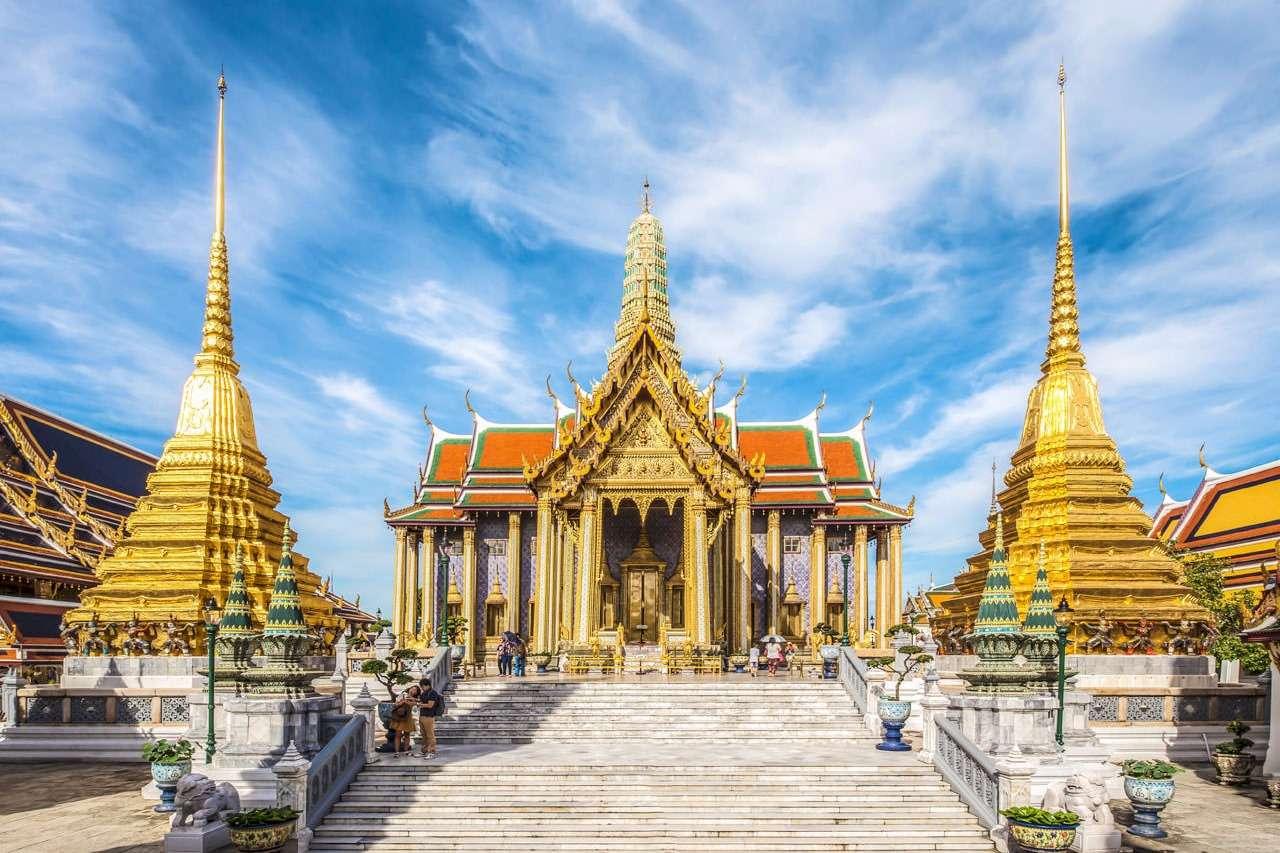 Hoàng cung Thái Lan và chùa Phật Ngọc