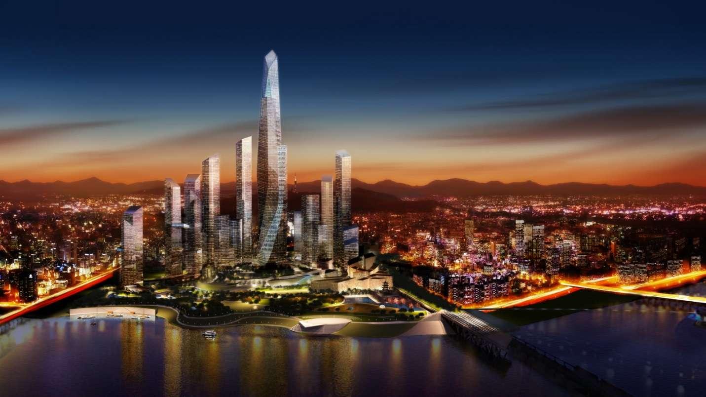 Seoul rực rỡ ánh đèn về đêm