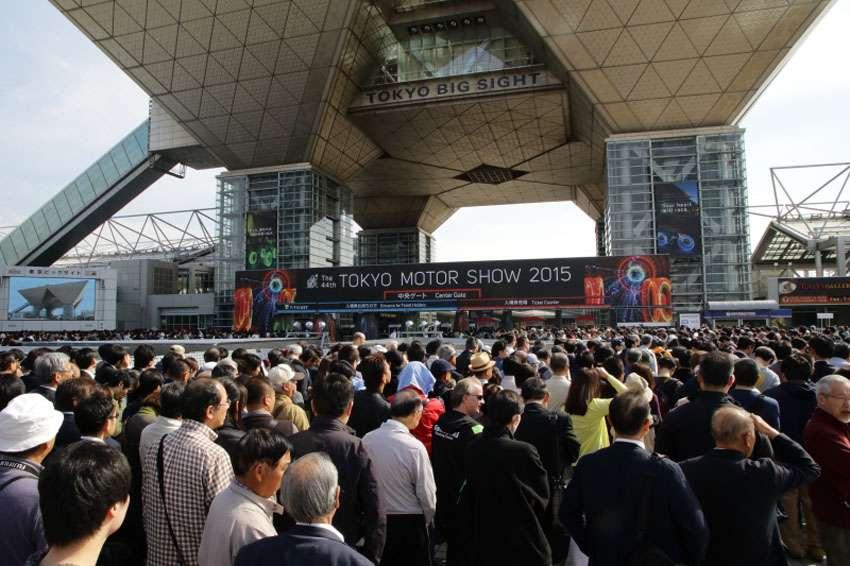 Show diễn motor tại Tokyo