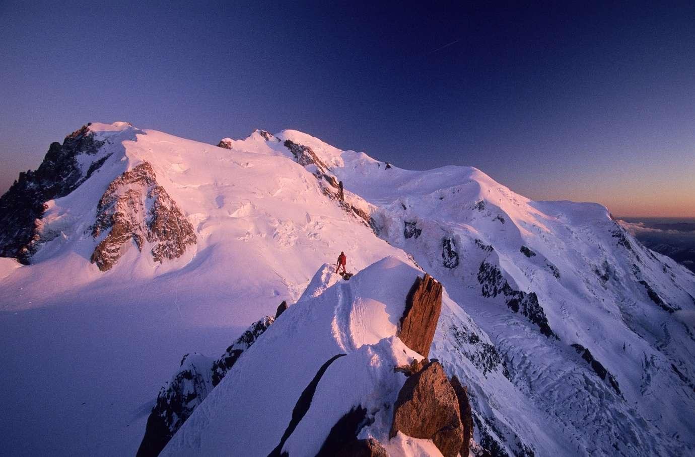 Mont Blanc với khu trượt tuyết nổi tiếng nhất đất nước