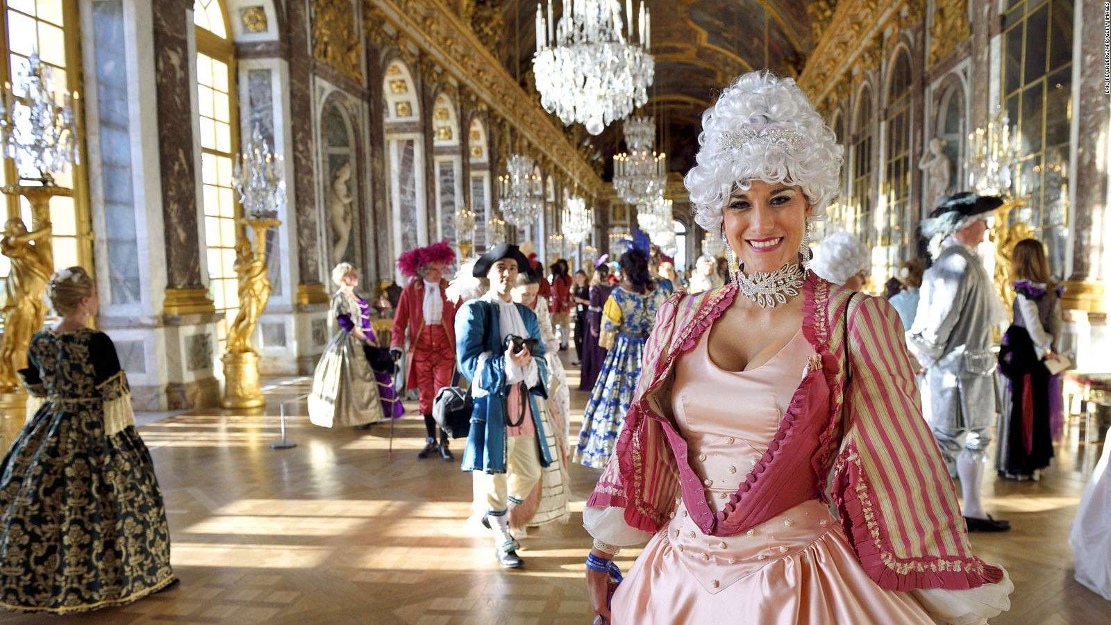Château de Versailles với những cung điện tráng lệ