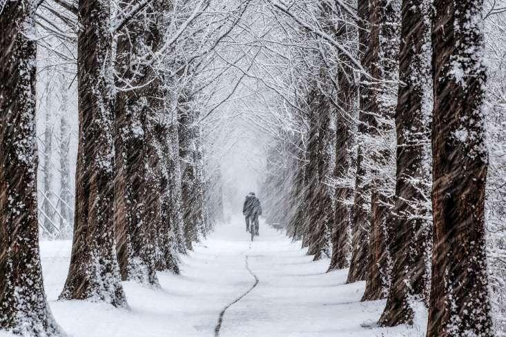 Thời tiết mùa đông Hàn Quốc khá khắc nghiệt