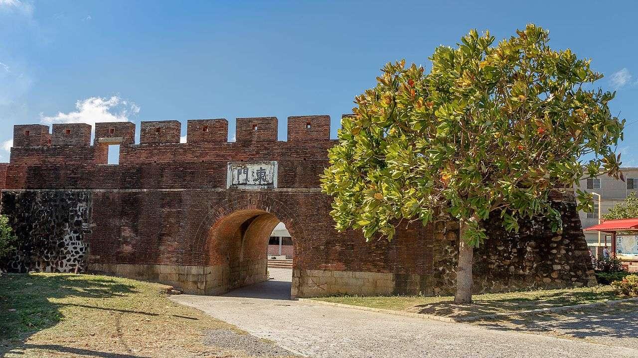 Ghé thăm Bốn cổng thành ở Hengchun