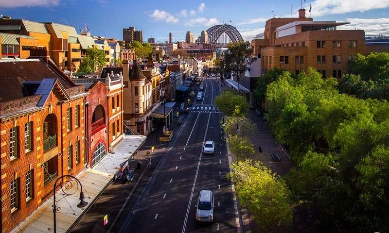 """Khu phố cổ The Rocks được ví như """"bảo tàng Sydney ngoài trời"""""""