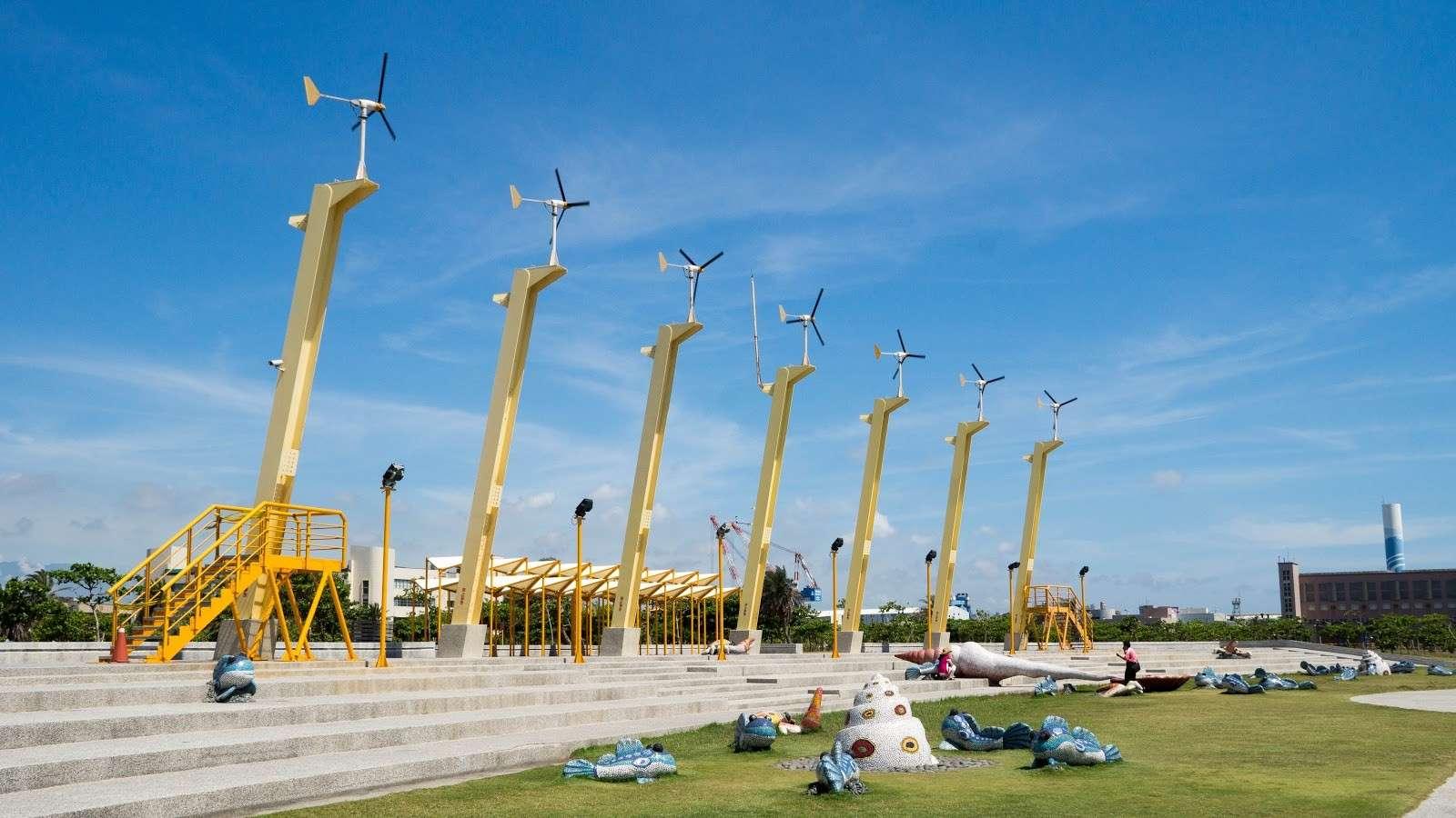 Đảo biển Cijin và những chiếc cối xay gió