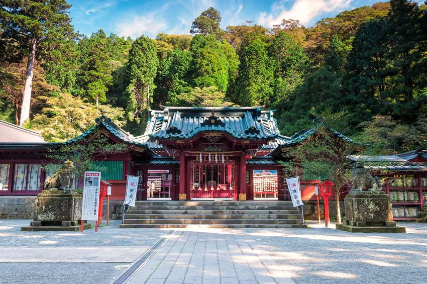 Hoà mình vào thiên nhiên tại ngôi chùa Sounji