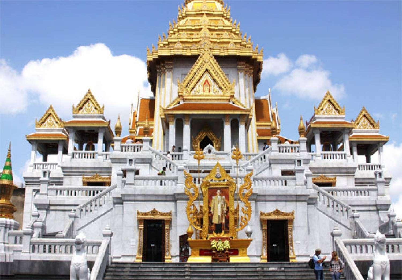 Chùa Wat Traimit thuộc quận Samphanthawong