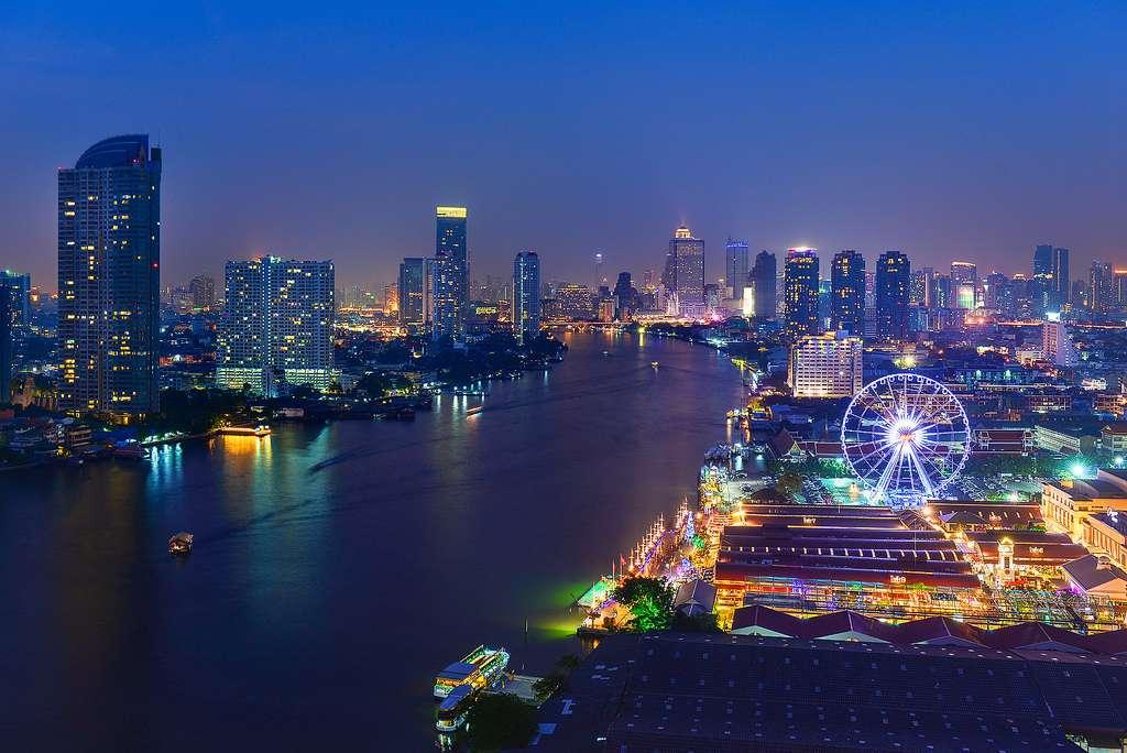 Chao Phraya - con sông của các vị vua