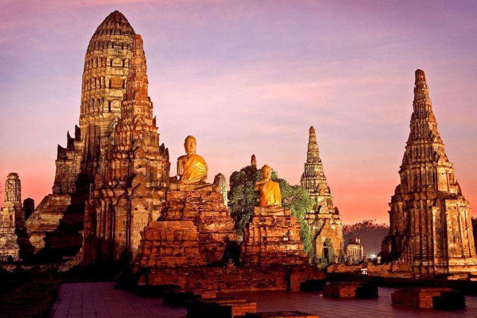 Thành cổ Ayutthaya chứa đựng những gì tinh hoa nhất của nền văn hóa Phật giáo của Thái Lan
