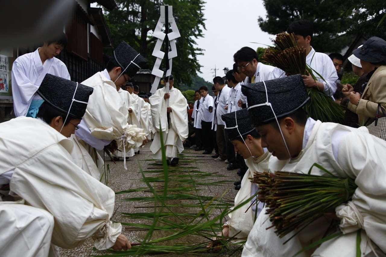 Lễ hội ngày 1 tháng Sáu hàng năm tại đền Izumo