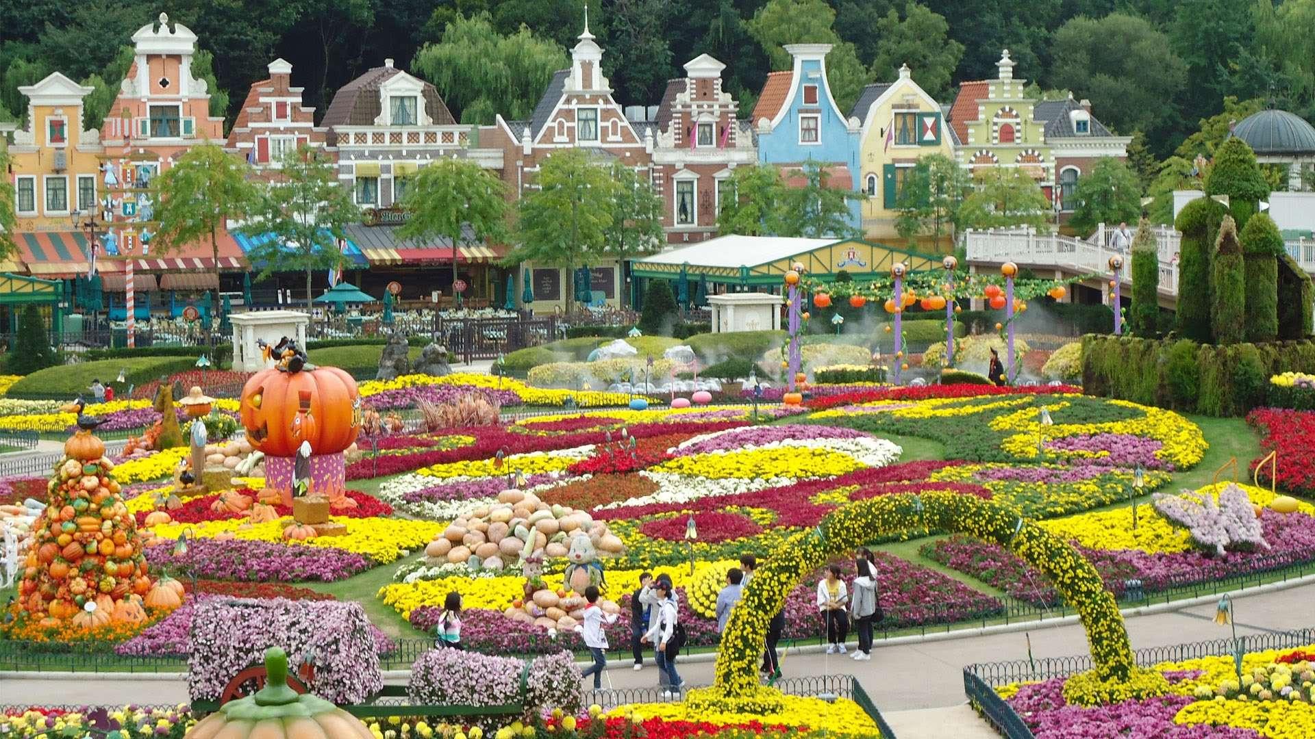 Đây là công viên chủ đề đầu tiên và lớn nhất ở Hàn quốc