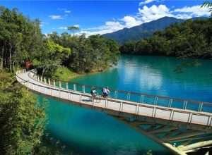 Nhắc đến cảnh đẹp Đài Trung không thể thiếu Hồ Nhật Nguyệt