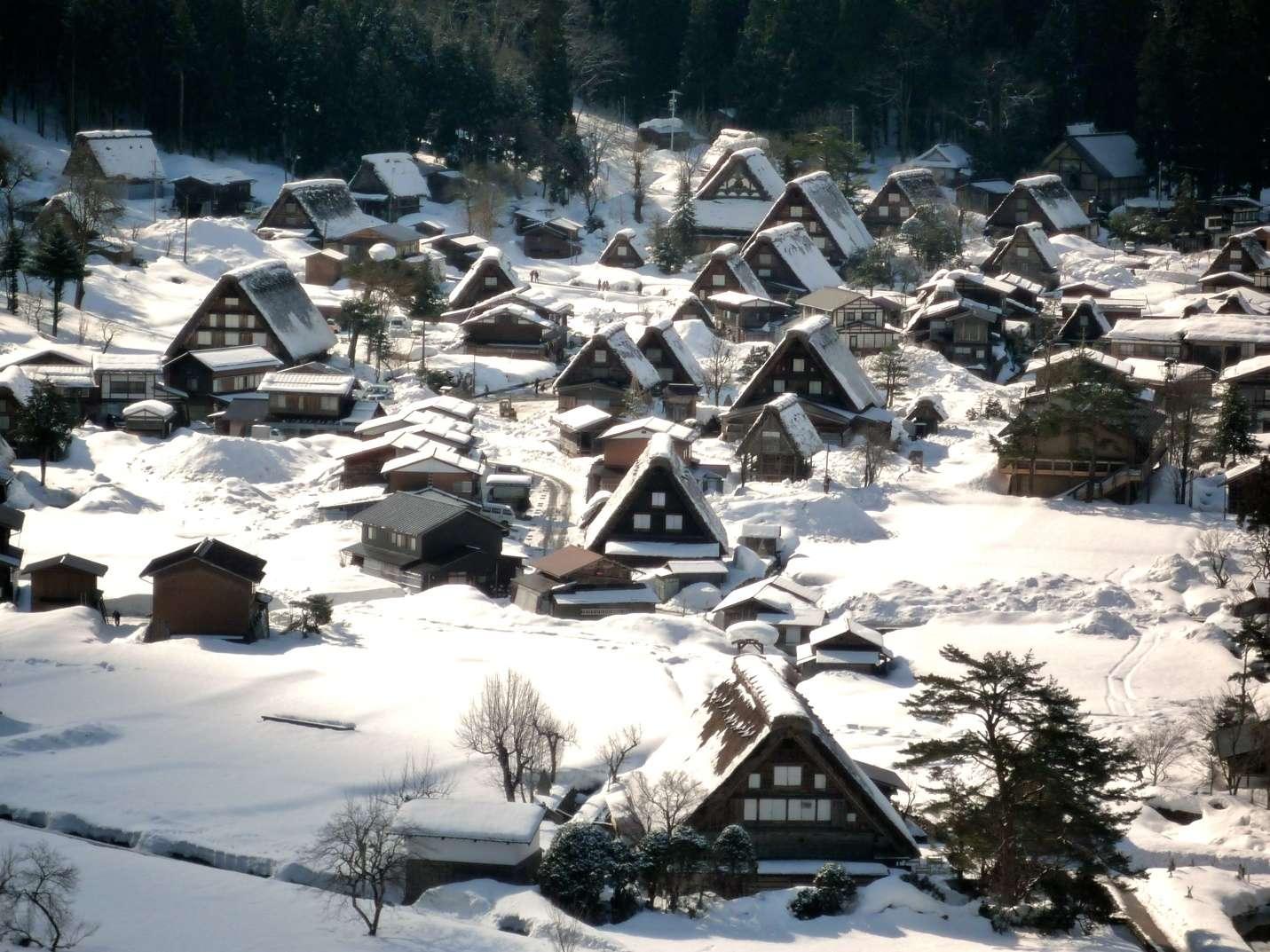 Làng cổ Shirakawa