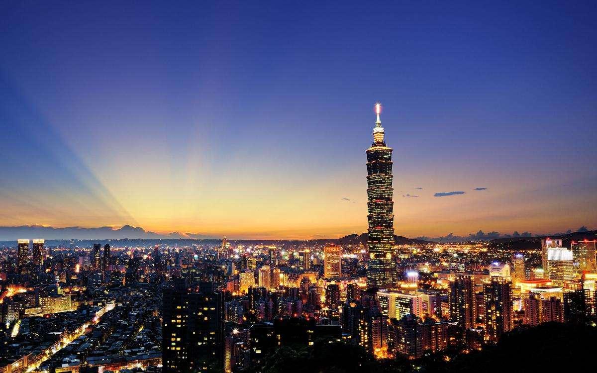 Thành phố Đài Bắc hiện đại và náo nhiệt