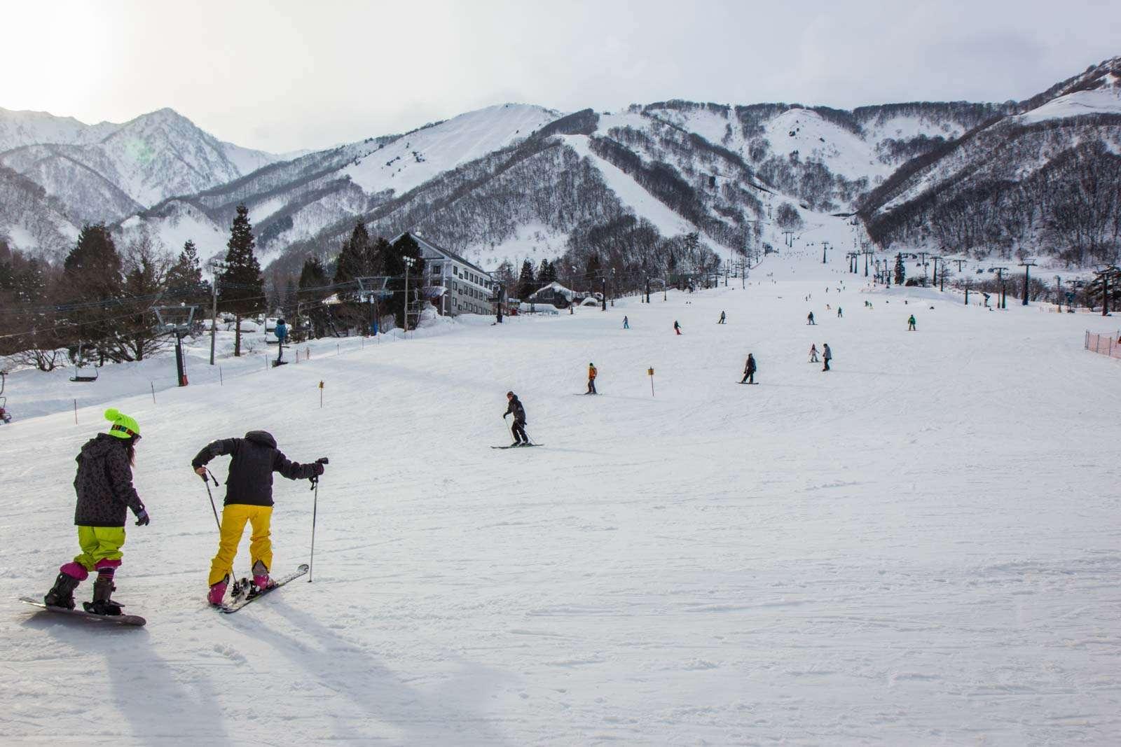 Núi ở Hakuba, Nagano