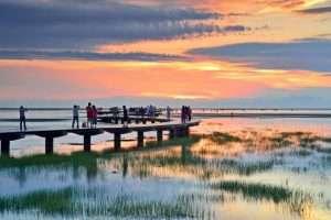 Kaomei là đầm lầy ngập nước nằm trong top các thắng cảnh đẹp dành cho khách du lịch Đài Trung