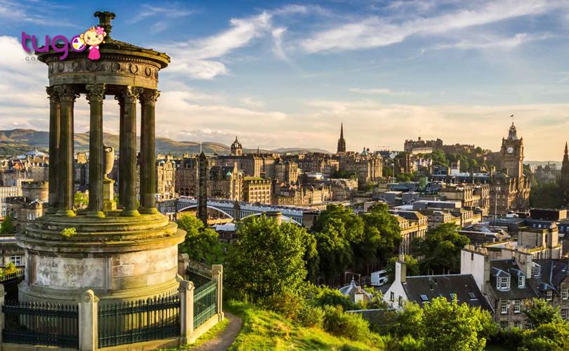 ve-dep-tuoi-mat-trong-lanh-tai-thu-do-edinburgh-scotland