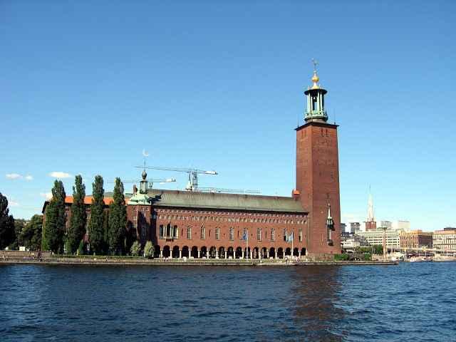 Kết quả hình ảnh cho Tòa thị chính Stockholm