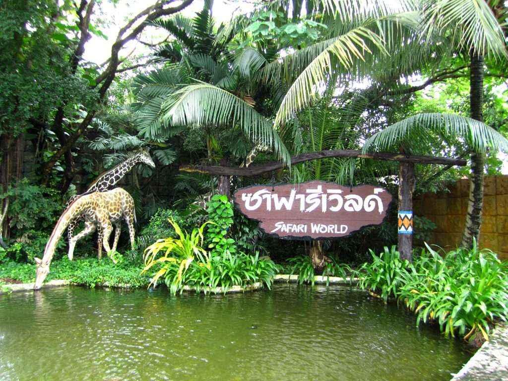 TOUR  BANGKOK - VƯỜN THÚ HOANG DÃ SAFARI WORLD(VTR)